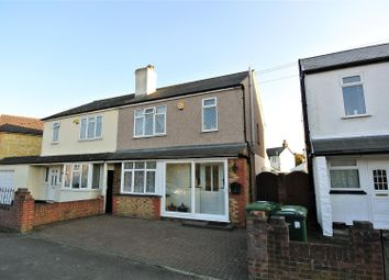 Thumbnail 3 bedroom semi-detached house for sale in Woodthorpe Road, Ashford