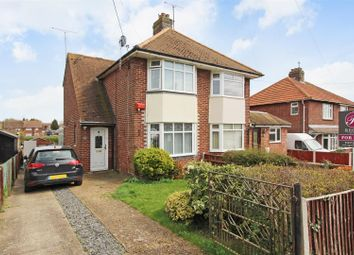 Thumbnail 2 bed semi-detached house for sale in Deansway Avenue, Sturry, Canterbury