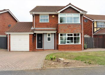 Thumbnail 4 bed detached house for sale in Sunnybank Close, Walsall
