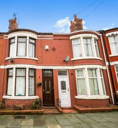 Thumbnail 2 bedroom terraced house for sale in Greencroft Road, Wallasey