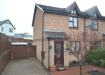 Thumbnail 2 bed semi-detached house for sale in King Alfred Way, Newton Poppleford, Sidmouth, Devon