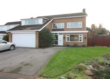 Thumbnail 5 bedroom detached house for sale in Sherborne Road, Burbage, Hinckley
