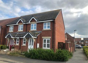 Thumbnail 3 bed semi-detached house to rent in Ladyburn Way, Hadston, Morpeth, Northumberland