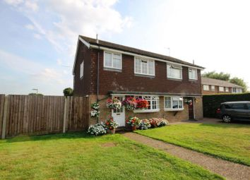 Thumbnail 3 bed semi-detached house to rent in Ash Lodge Close, Ash