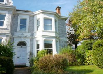 Thumbnail 1 bed flat to rent in Mannamead Road, Plymouth
