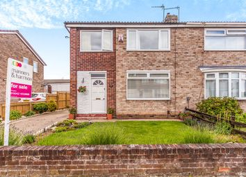 Thumbnail 3 bed semi-detached house for sale in Elton Road, Billingham