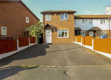 Thumbnail 3 bed end terrace house for sale in Kersal Way, Salford