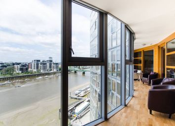 Thumbnail 4 bed flat to rent in Lombard Road, Wandsworth