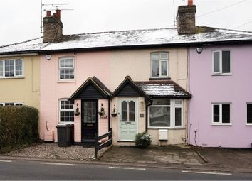 Thumbnail 2 bed terraced house for sale in Roxwell Road, Chelmsford
