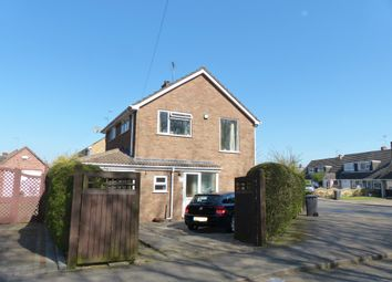Thumbnail 3 bed detached house for sale in Morpeth Close, Peterborough