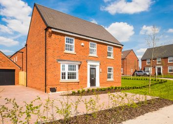 "Thumbnail 4 bedroom detached house for sale in ""Avondale"" at Blenheim Close, Stafford"