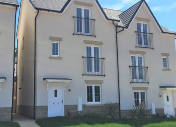 "Thumbnail 4 bed terraced house for sale in ""The Pottleswood"" at Chard Road, Axminster"