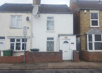 Thumbnail 2 bed semi-detached house for sale in Dogsthorpe Road, Peterborough