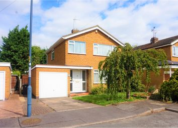 Thumbnail 3 bed detached house for sale in Ellastone Gardens, Derby