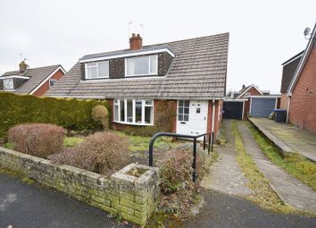 Thumbnail 3 bed semi-detached house for sale in Wetenhall Drive, Leek