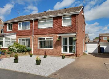 Thumbnail 3 bedroom semi-detached house for sale in Springdale Close, Willerby, Hull