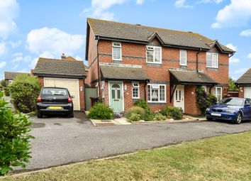 Thumbnail 3 bed semi-detached house for sale in Woodborough Close, Bracklesham Bay