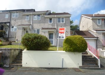 Thumbnail 2 bedroom end terrace house for sale in Elford Crescent, Plympton, Plymouth