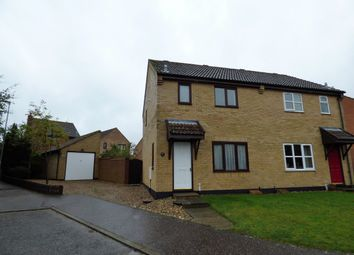 Thumbnail 3 bed end terrace house to rent in Poppy Close, Loddon, Norwich