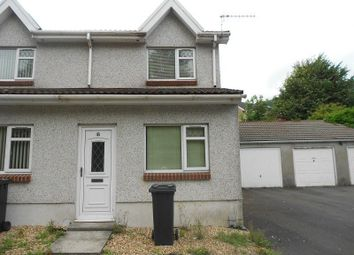 Thumbnail 2 bed end terrace house to rent in Heol Camlas Cwmavon, Port Talbot, Neath Port Talbot.