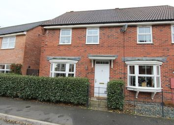 Thumbnail 3 bed semi-detached house to rent in Goldfinch Road, Uppingham, Oakham