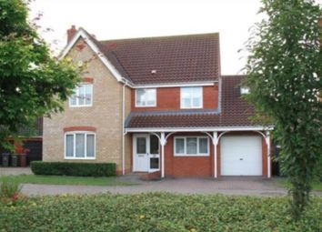 Thumbnail 5 bed detached house to rent in Luscombe Way, Rackheath, Norwich