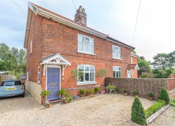Thumbnail 2 bedroom semi-detached house for sale in Mill Road, Great Ryburgh, Fakenham
