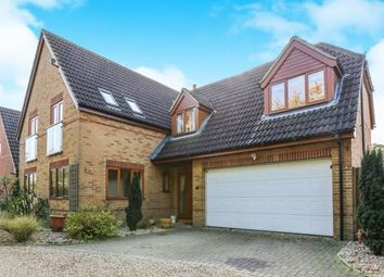 Thumbnail 4 bed detached house for sale in Ivy Close, Station Road, Tempsford, Sandy