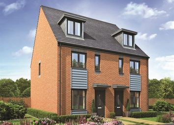 "Thumbnail 3 bedroom town house for sale in ""The Bickleigh"" at Lawley Drive, Lawley, Telford"