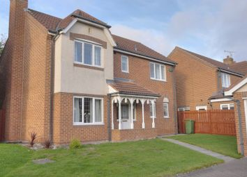 Thumbnail 4 bed detached house for sale in Kelfield Grove, Cramlington