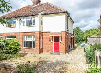 Thumbnail 3 bedroom semi-detached house for sale in Trafford Road, Norwich