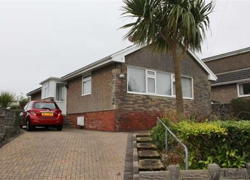 Thumbnail 3 bed detached bungalow for sale in Rushwind Close, West Cross, Swansea