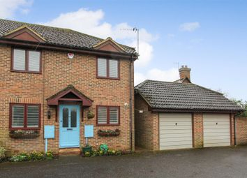 Thumbnail 3 bed semi-detached house for sale in Elveden Close, Pyrford, Woking