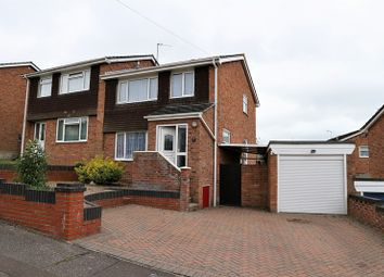 Thumbnail 3 bed semi-detached house for sale in Sweden Close, Dovercourt, Harwich