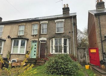 Thumbnail 3 bed end terrace house for sale in Fornham Road, Bury St. Edmunds