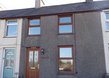 Thumbnail 2 bed terraced house to rent in Fron Dirion, Nebo, Caernarfon, Gwynedd
