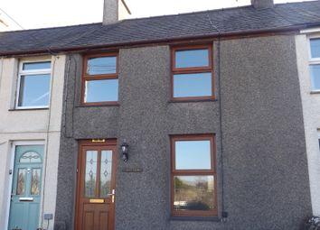 Thumbnail 2 bed terraced house to rent in Fron Dirion, Nebo, Caernarfon, Gwynedd
