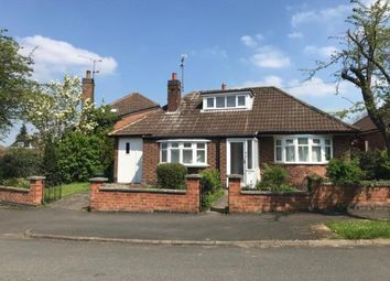 Thumbnail 2 bed bungalow for sale in Elizabeth Drive, Oadby, Leicester, Leicestershire