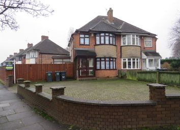 Thumbnail 3 bed semi-detached house for sale in Fowey Road, Hodge Hill, Birmingham