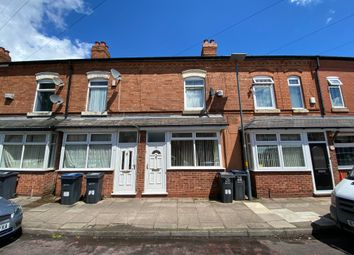 Thumbnail 3 bed terraced house for sale in Chesterton Avenue, Chesterton Road, Sparkbrook, Birmingham