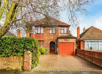 Thumbnail 4 bed detached house for sale in Meadowside, Walton-On-Thames, Surrey