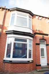Thumbnail 4 bed terraced house to rent in Gresham Road, Middlesbrough