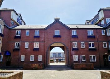 Thumbnail 1 bed flat to rent in Monmouth House, Marina, Swansea.