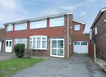 Thumbnail 4 bed semi-detached house for sale in Raymond Close, Colnbrook, Slough