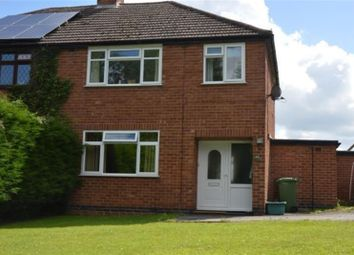 Thumbnail 3 bed semi-detached house to rent in Middle Bickenhill Lane, Hampton-In-Arden, Solihull