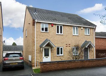 Thumbnail 2 bed semi-detached house to rent in St. Johns Close, Chase Terrace, Burntwood