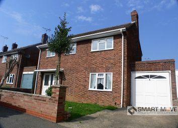Thumbnail 3 bedroom detached house for sale in Gildenburgh Avenue, Peterborough, Cambridgeshire.