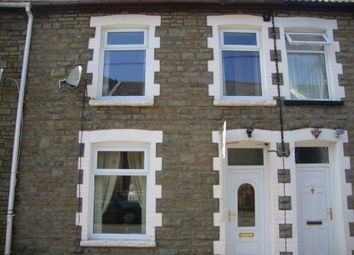 Thumbnail 2 bed terraced house to rent in Evelyn Street, Abertillery
