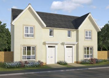 "Thumbnail 3 bed semi-detached house for sale in ""Urquhart"" at Greystone Road, Kemnay, Inverurie"