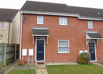 Thumbnail 2 bed semi-detached house to rent in Combs Wood Drive, Stowmarket